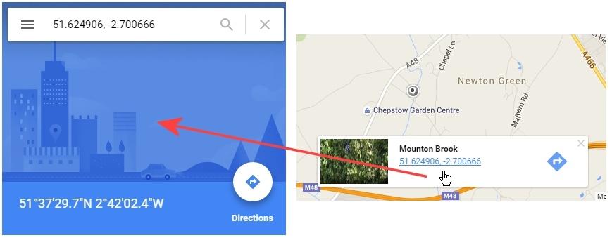 Wiki gps coordinates google maps - c950