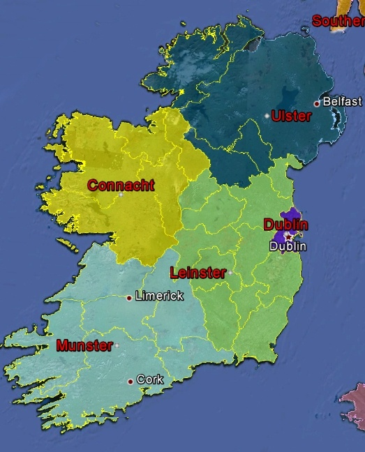 Regional Map Of Ireland.Uk Regional Map Geocaching Com Wiki Geocaching Wiki